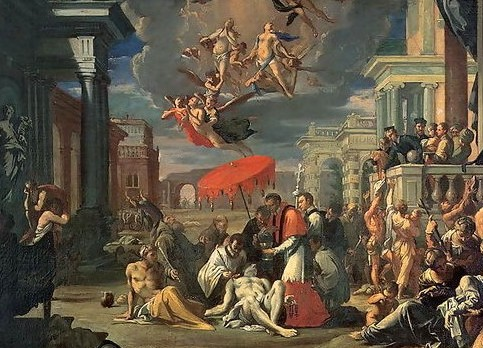St.-Charles-Borromeo-Administering-The-Sacrament-To-Plague-Victims-In-1576
