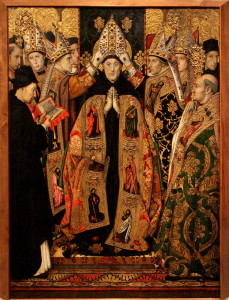 Jaume_Huguet_-_The_Consecration_of_St_Augustine
